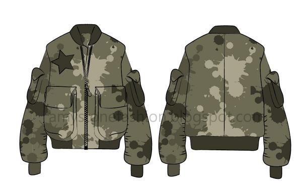 woman bomber jacket 0115