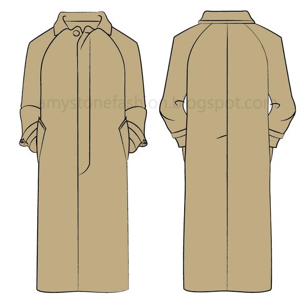 Balmacaan raincoat 0148