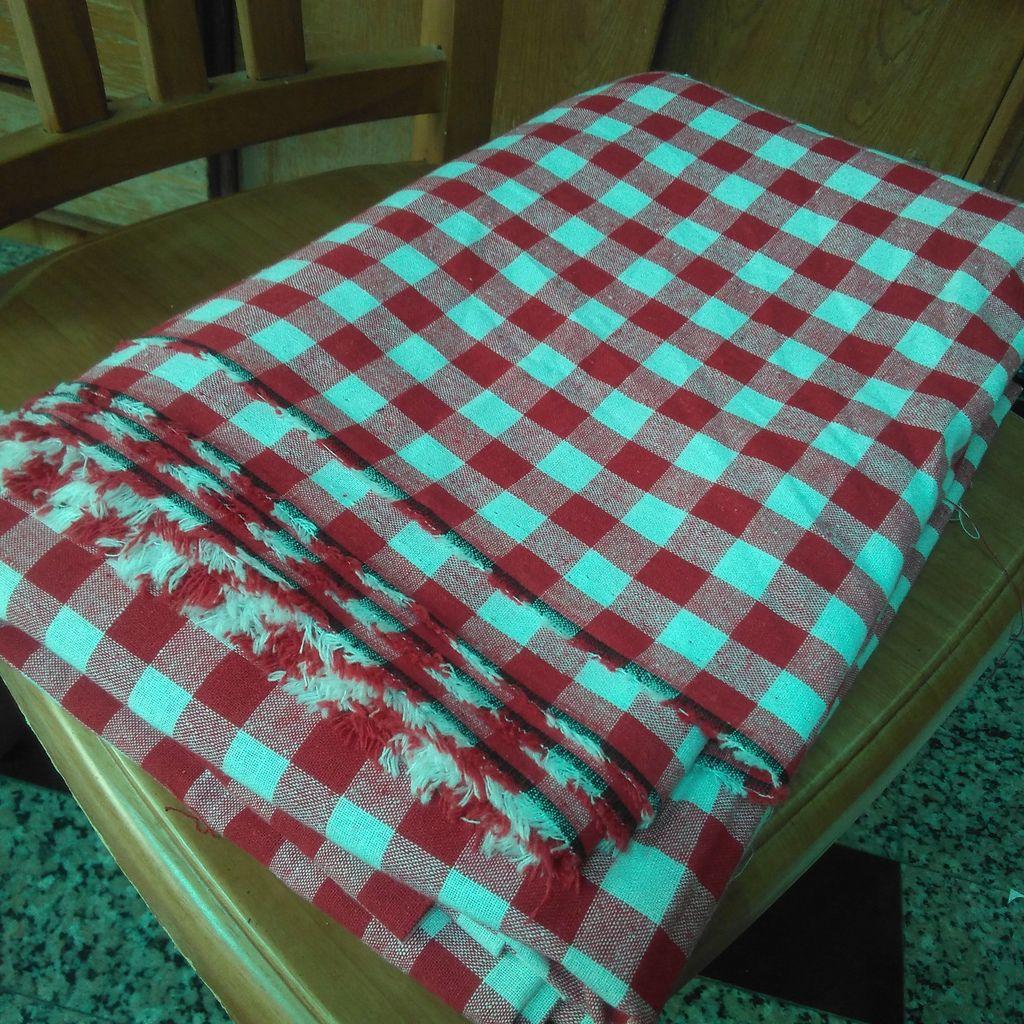 紅白格子布