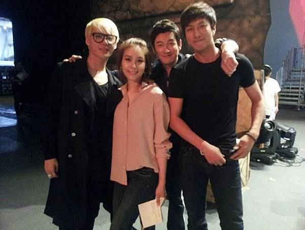 with JS and musical actors