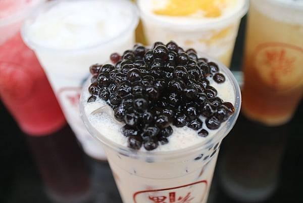 台南飲料外送鬼茶森林台南大成店珍珠奶茶