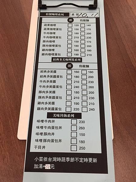 大西屋JuJuジュジュ台南好吃咖哩飯