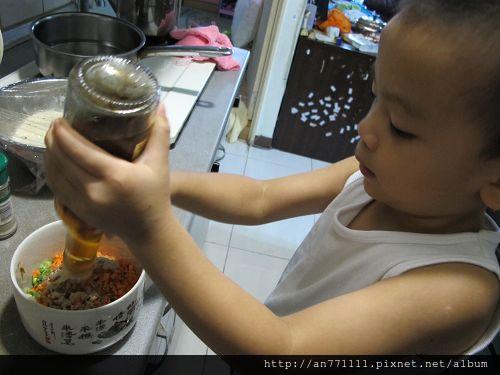 蔬菜蔥油餅 (15)