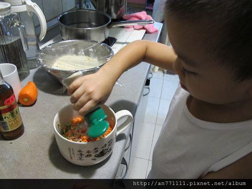 蔬菜蔥油餅 (10)
