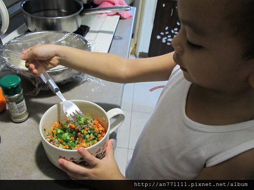 蔬菜蔥油餅 (16)