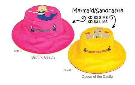 Mermaid_Sandcastle_KidsHats