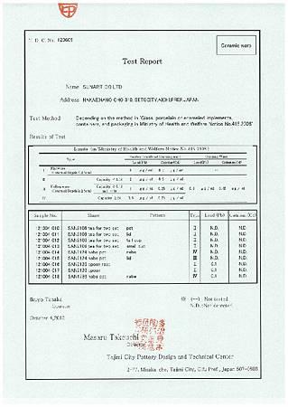 sunart檢驗報告-2