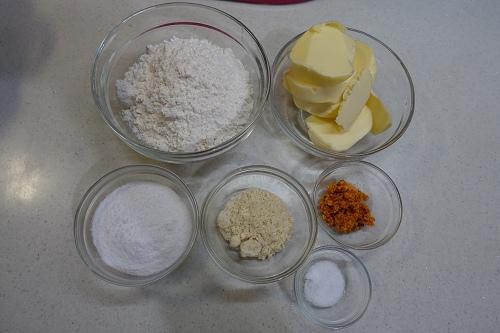 芒果奶油酥球 (1)