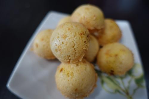 芒果奶油酥球 (24)