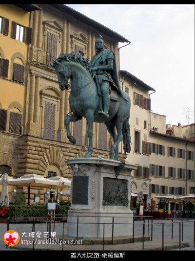 036科西莫一世騎馬像.JPG