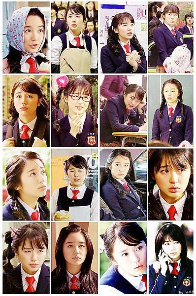 太子妃的各種造型 - 青春俏麗的學生
