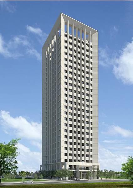 府局網+-商二基地24層旅館示意圖
