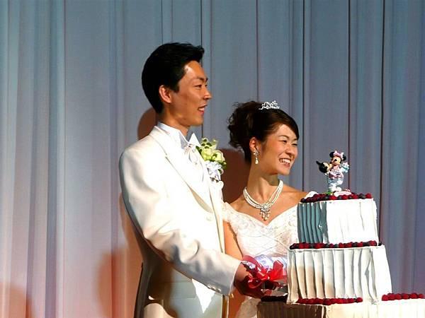 切婚禮蛋糕