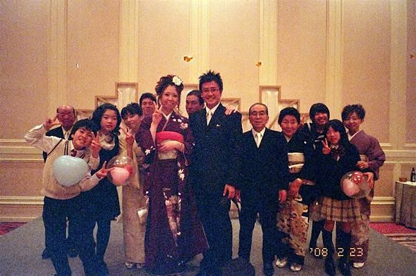 感覺是Tomomi和我結婚