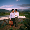 Hiro and I @ 關渡生態公園