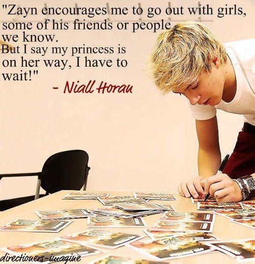 Niall ur really sweet