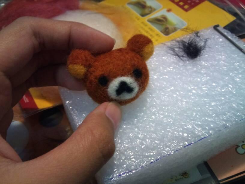 懶懶熊羊毛氈