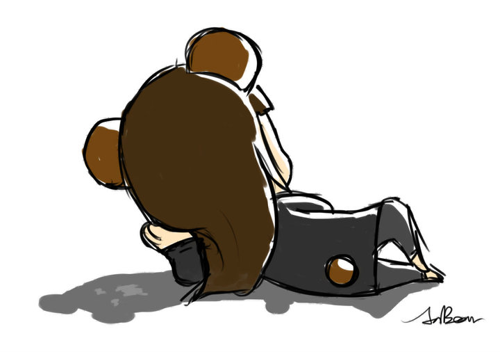 懶懶熊女(?)