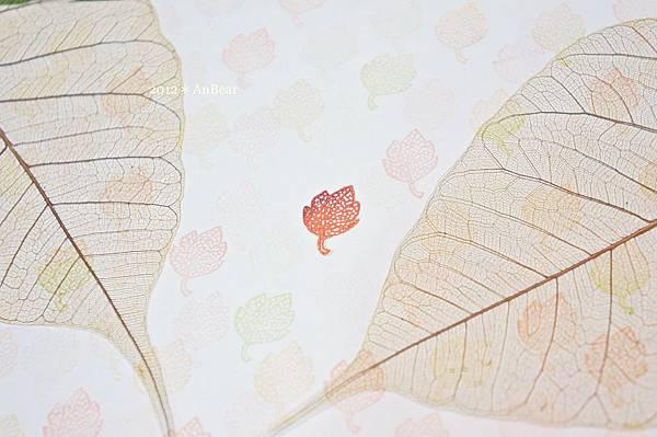 橡皮印章-樹葉