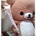 B熊上廁所