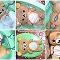 小B熊洗澡