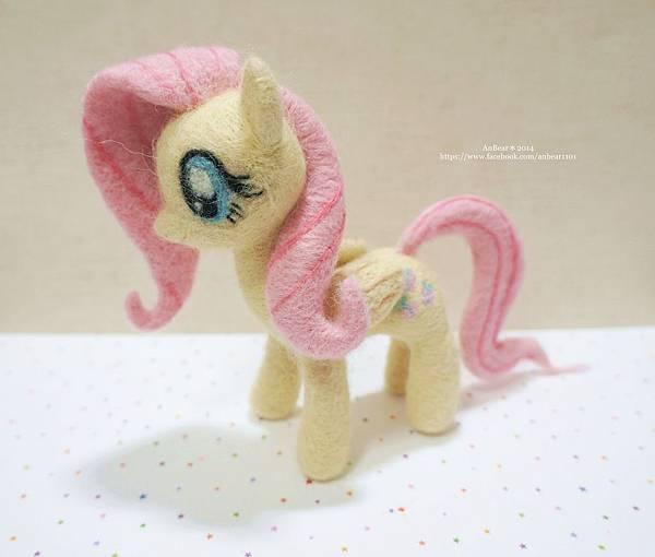Fluttershy小馬羊毛氈