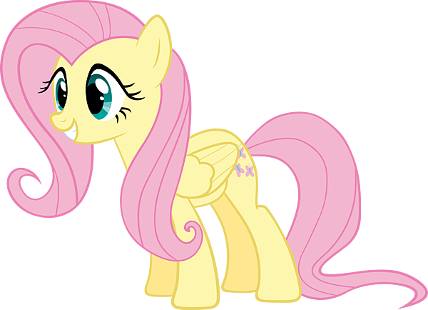 fluttershy-cartoon