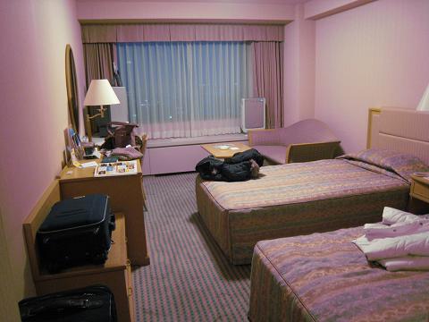 京王飯店房間