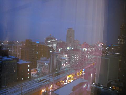 從京王飯店房間看出去的景緻