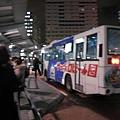 去札幌啤酒園的公車