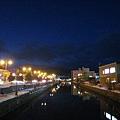 小樽運河夜景