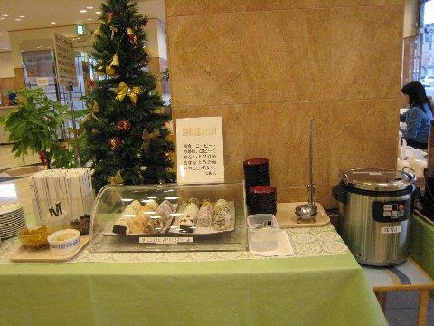 東橫Inn的早餐