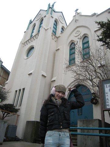 我在函館教會