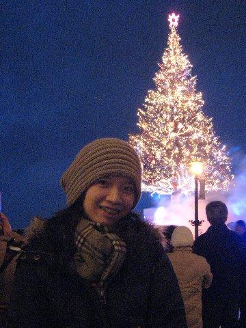 我和聖誕樹