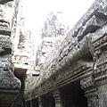 Ankor Thom的Bayon寺