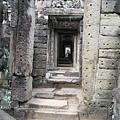 Preah Khan的迴廊