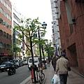銀座的街景