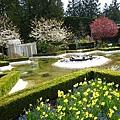 Italian Garden裡星狀的水池