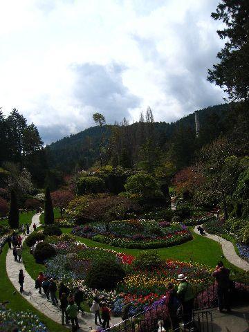 Sunken Garden全景