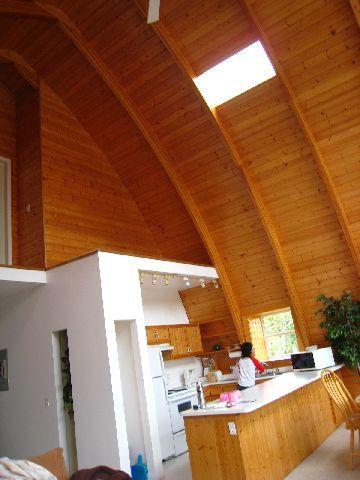 我們住的小木屋Salt Springs Spa Resort廚房