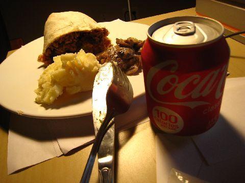 我的晚餐~~