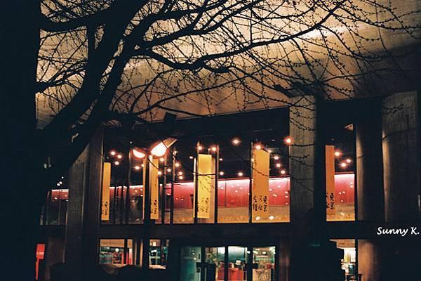 Ueno Park at Night 1
