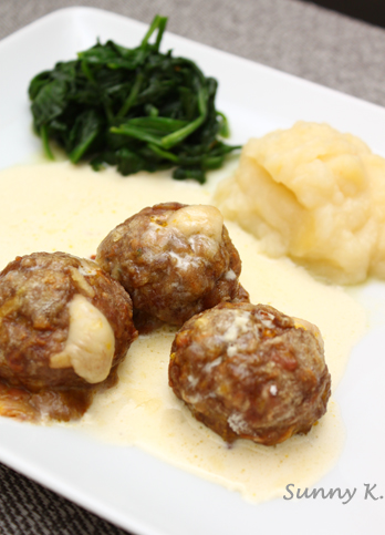 Cheesy Meatball