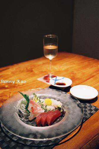 晚餐-生魚片