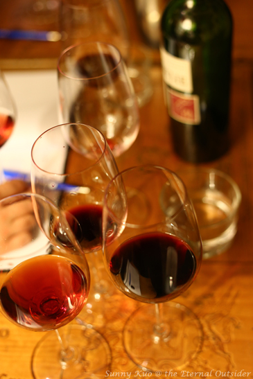 Comparing the differences between wines
