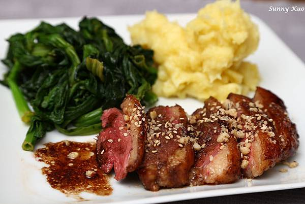 Honey Lacquered Duck Breast