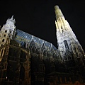 Stephansdom at night-夜晚的史蒂芬大教堂-2.JPG