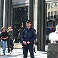 Stephansplatz史蒂芬廣場駐守的有型警察