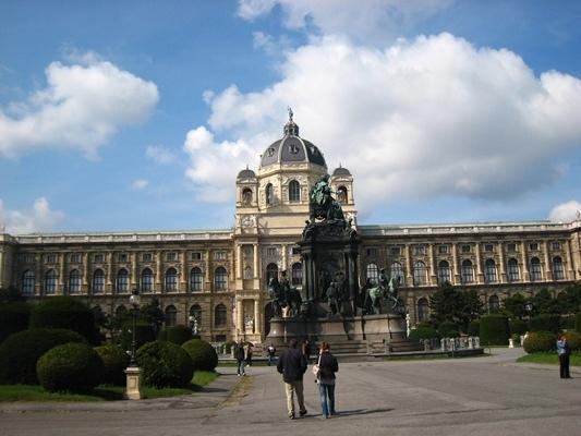 Maria Theresia Statute and Naturhistorisches Museum瑪莉特蕾莎像與自然史博物館.JPG