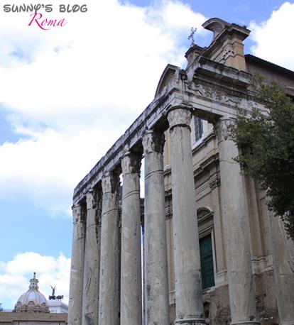 Roman Forum 09 - temple of Antoninus and Faustina.jpg